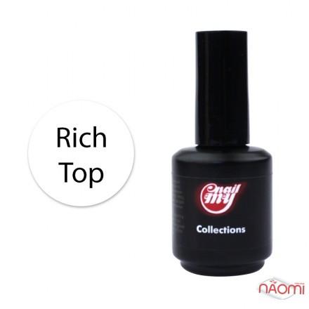 Топ матовый для гель-лака без липкого слоя My Nail Rich Top, 15 мл, фото 1, 149.00 грн.