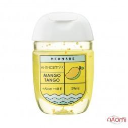 Антисептик для рук Mermade Mango Tango, соковитий манго, 29 мл