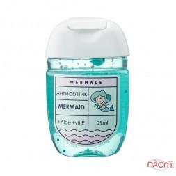 Антисептик для рук Mermade Mermaid, свіжий парфумований аромат, 29 мл