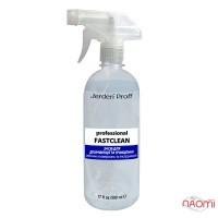 Средство для дезинфекции поверхностей и инструментов Jerden Proff Professional Fastclean, 500 мл