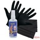 Мини набор для индивидуальной защиты, перчатки, маски, антисептик для рук Фасепт, 60 мл, фото 1, 168.00 грн.