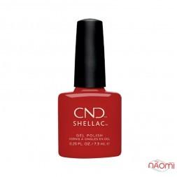 CND Shellac Iconic Company Red классический огненно-красный, 7,3 мл
