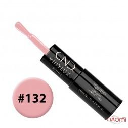 Лак-карандаш CND Vinylux 132 Negligee бледный полупрозрачно-розовый, 3,7 мл + закрепитель, 3,7 мл