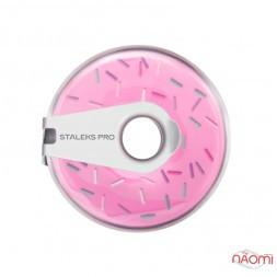 Сменный файл-лента с клипсой для пилок Staleks PRO Bobbi Nail пончик 180 грит, 8 м