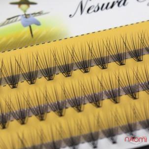 Пучкові вії Nesura Eyelash 10 мм, чорні
