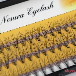 Пучкові вії Nesura Eyelash 11 мм, чорні