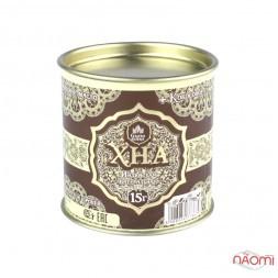 Хна для брів і біо тату Grand Henna шоколадно-коричнева, 15 г