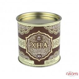 Хна для брів і біо тату Grand Henna шоколадно-коричнева, 30 г