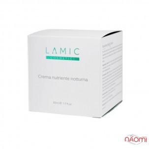 Крем для лица, шеи и декольте Lamic Cosmetici ночной, питательный, 50 мл