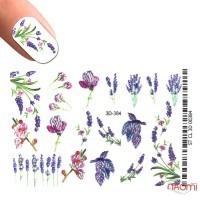 Слайдер-дизайн Хрусталь 3D 384 Цветы