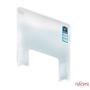 Захисний екран для майстрів маникюру Мікростоп, прозорий, 75x65 см, віконце для рук 45x17 см