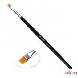 Пензлик для фарбування брів MILEO 5, прямий,штучний ворс, ширина 5 мм