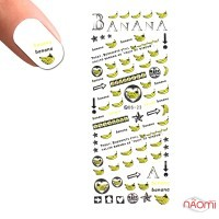 Слайдер-дизайн DS 023 Бананы