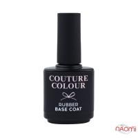 База каучуковая для гель-лака Couture Colour Rubber Base Coat, 15 мл