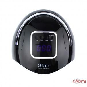 УФ LED лампа светодиодная Star 2 Black 72 Вт, таймер 10, 30, 60 и 99 сек, цвет черный