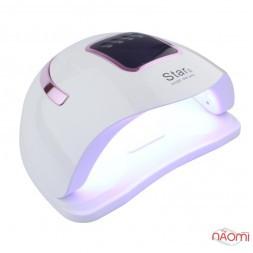 УФ LED лампа світодіодна Star 2 Rose Gold 72 Вт, таймер 10, 30, 60 и 99 сек, колір білий