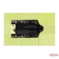 Салфетки безворсовые Starlet Professional, 6х4 см, 500 шт., цвет желтый