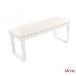 Підлокітник для рук Rainbow Store Loft настільний на з'ємних металічних білих ніжках, колір білий