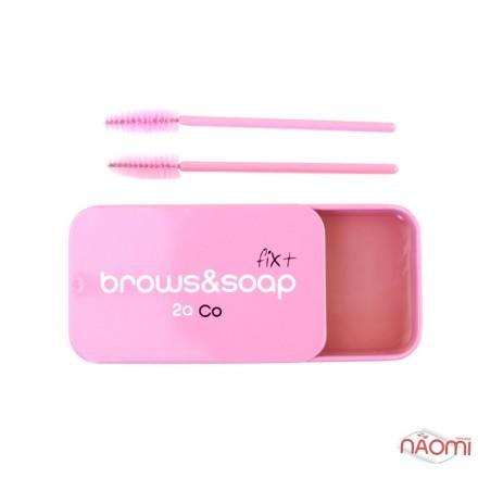 Мыло для бровей Brows Soap 2a Co Fix с супер фиксацией, 30 г, фото 1, 299.00 грн.