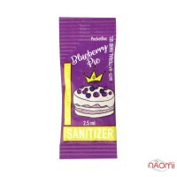 Санитайзер Washyourbody PocketStick Blueberry Pie, черничный пирог, стик, 2,5 мл