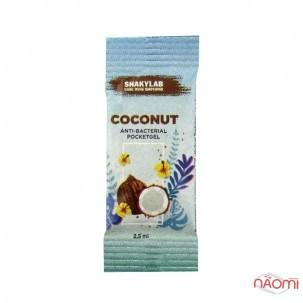 Санитайзер Washyourbody PocketStick Coconut, кокос, стик, 2 мл
