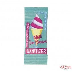 Санитайзер Washyourbody PocketStick Mint Ice Cream, мятное мороженое, стик, 2 мл