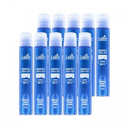 Филлер для волос La.dor Perfect Hair Fill-up с эффектом ламинирования, в наборе 10 шт, 13 мл, фото 1, 377.00 грн.