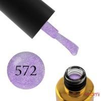 Гель-лак F.O.X Dolls Empress 572 нежно-фиолетовый с шиммером, 6 мл