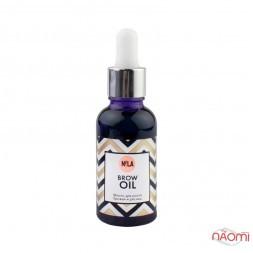 Олія для росту брів та вій Nila Brow Oil, 30 мл
