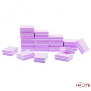 Набор мини-бафов для ногтей Starlet Professional 100/180, в наборе 50 шт., цвет в ассортименте