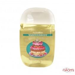 Санитайзер Washyourbody PocketBac Bubble Gum Pie, пирог с жевательной резинкой, 29 мл
