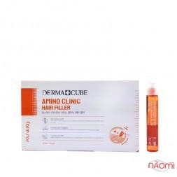 Филлер для волос Farmstay Derma Cube Amino Clinic Hair Filler с аминокислотами, 13 мл