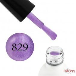 Гель-лак Koto 829 світло-фіолетовий вітражний з голографічними шимерами, 5 мл