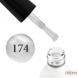 Гель-лак Koto 174 серебристо-перламутровая дымка, 5 мл