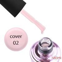 База камуфлирующая для гель-лака Elise Braun Cover Base Coat №02 цвет ярко-розовый, 15 мл