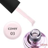 База камуфлирующая для гель-лака Elise Braun Cover Base Coat №03 цвет розовый, 15 мл