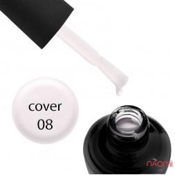 База камуфлююча для гель-лаку Elise Braun Cover Base Coat №08 колір лавандовий, 15 мл