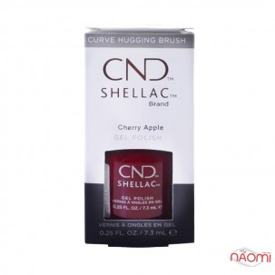 CND Shellac Autumn Addict Cherry Apple насыщенный вишневый, 7,3 мл