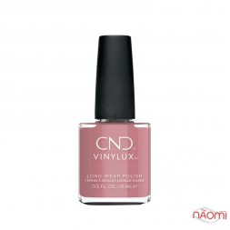 Лак CND Vinylux Autumn Addict 361 Fuji Love, теплий рожево-ліловий, 15 мл