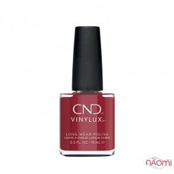 Лак CND Vinylux Autumn Addict 362 Cherry Apple, насичений вишневий, 15 мл