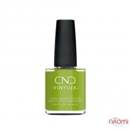 Лак CND Vinylux Autumn Addict 363 Crisp Green, пікантний зелений, 15 мл