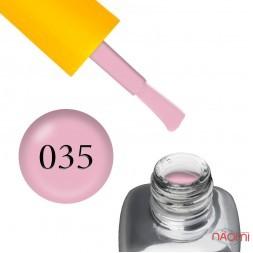 Гель-лак LEO Seasons Spring S035, глибокий пудрово-рожевий, 9 мл