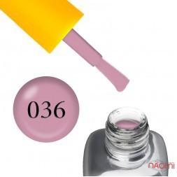 Гель-лак LEO Seasons Spring S036, м'який кавово-рожевий, 9 мл