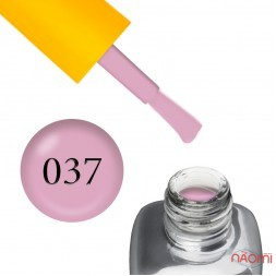 Гель-лак LEO Seasons Spring S037, пастельно-рожевий, 9 мл