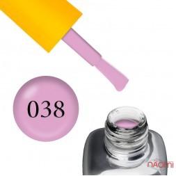 Гель-лак LEO Seasons Summer S038, бузково-рожевий, 9 мл