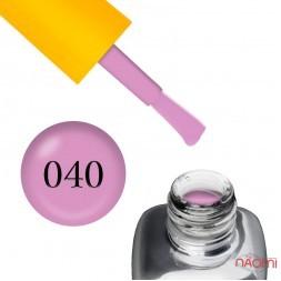 Гель-лак LEO Seasons Summer S040, насичений бузково-рожевий, 9 мл