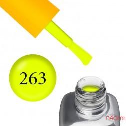 Гель-лак LEO Seasons Summer S263 неоново-желтый, 9 мл