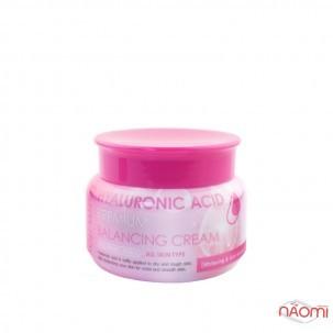 Крем для обличчя Farmstay Hyaluronic Acid Premium Balancing Cream балансуючий з гіалуроновою кислотою, 100 г