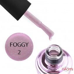 Гель-лак Elise Braun Foggy 02, рожевий з шимерами, 7 мл