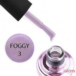 Гель-лак Elise Braun Foggy 03 сиренево-розовый с шиммерами, 7 мл